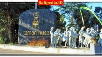 Harga Tiket Masuk Taman Nusa Bali – Gianyar 2018