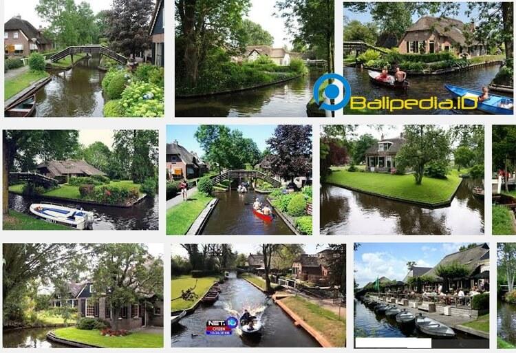 Desa Giethoorn - Desa Paling Bersih di Dunia