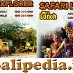 Harga Paket Bali Safari Park + Makan Siang (Lunch)